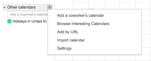 Using Week Numbers in Google Calendar - Browse Interesting Calendars