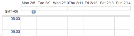 Using Week Numbers in Google Calendar - Week 6